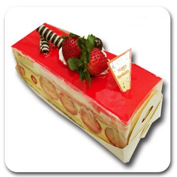 冬季限定《草莓維納斯》長條★預購★新鮮製作★草莓季★草莓蛋糕★草莓慕斯