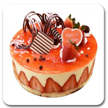 冬季限定《草莓維納斯》八吋★預購★新鮮製作★草莓季★草莓蛋糕★草莓慕斯