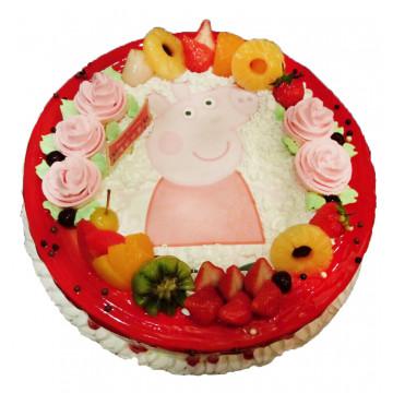 粉紅豬小妹 佩佩豬卡通蛋糕 喬治豬 造型蛋糕/好吃蛋糕/生日蛋糕推薦/立體蛋糕/