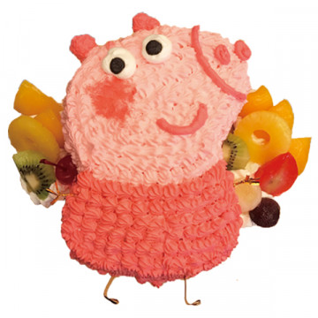 粉紅豬小妹 佩佩豬卡通蛋糕 喬治豬 造型蛋糕/好吃蛋糕/生日蛋糕推薦 立體蛋糕