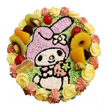 美樂蒂造型蛋糕/卡通蛋糕/好吃蛋糕/生日蛋糕推薦/立體蛋糕