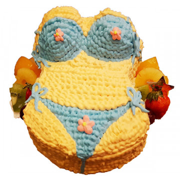 比基尼辣妹造型蛋糕/卡通蛋糕/好吃蛋糕/生日蛋糕推薦/立體蛋糕