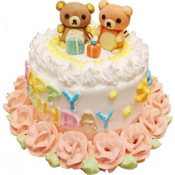 拉拉小熊立體造型蛋糕/卡通蛋糕/好吃蛋糕/生日蛋糕推薦/立體蛋糕