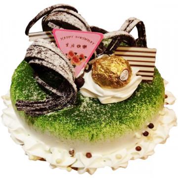 綠色多芬 /好吃蛋糕/生日蛋糕推薦/美味蛋糕/蛋糕外送