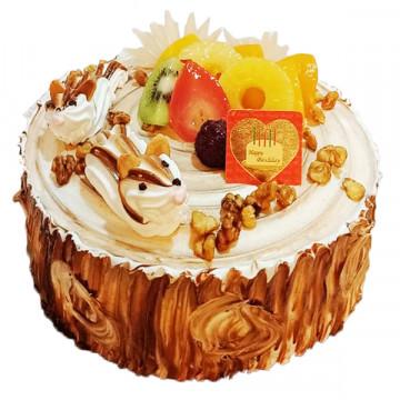 歡樂小松鼠 /好吃蛋糕/生日蛋糕推薦/美味蛋糕/蛋糕外送