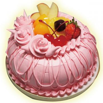 粉紅玫瑰 /好吃蛋糕/生日蛋糕推薦/美味蛋糕/蛋糕外送