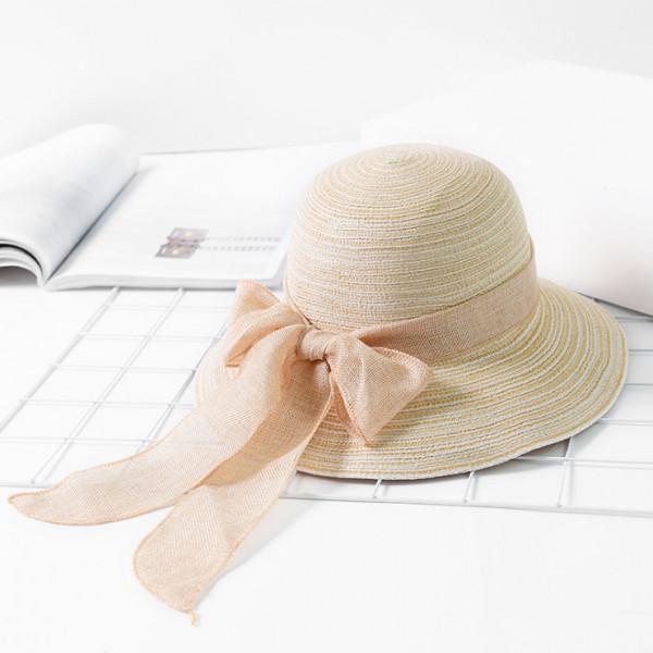 摺疊棉線漸層盆帽