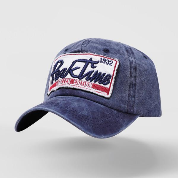 尖峰時刻立體電繡字母棒球帽YJB-A889