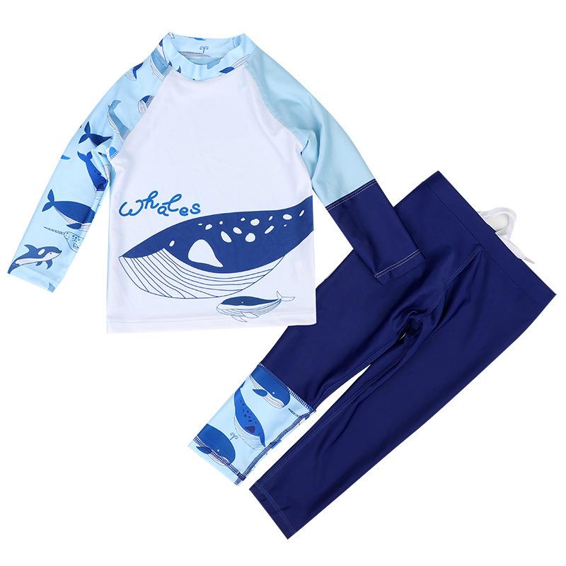 212兒童長袖防曬泳衣