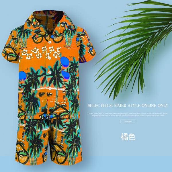 男童夏威夷套裝-小椰子
