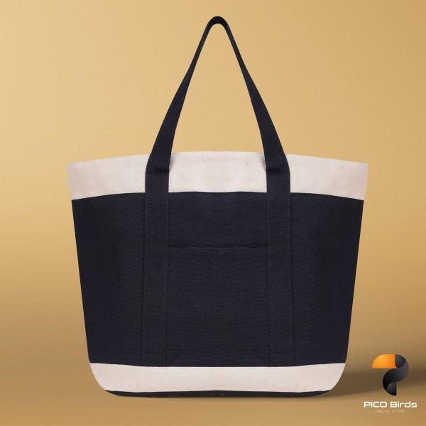 手提公文包通勤拚色 簡約單肩包 大容量帆布包
