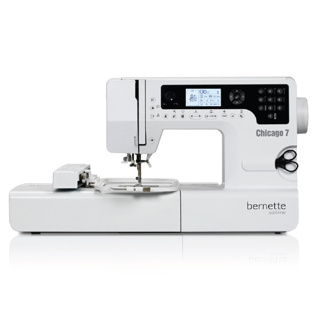 【BERNINA】bernette Chicago 7 刺繡縫紉機