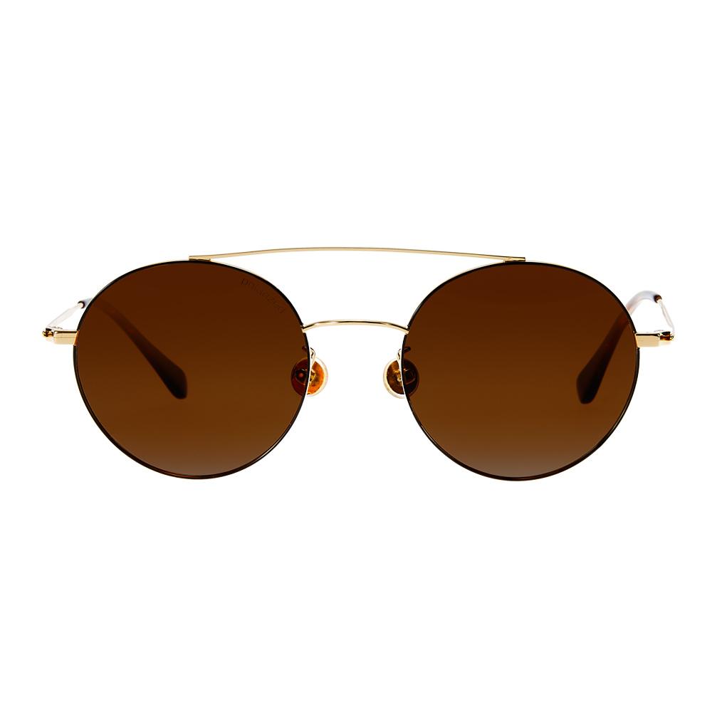 TIN025 復古街頭感圓框太陽眼鏡