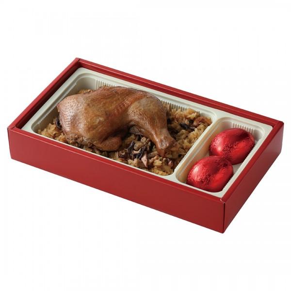 【滿意油飯】雞腿油飯禮盒