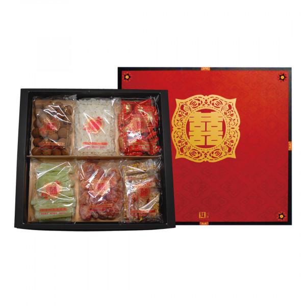 六色囍糖禮盒