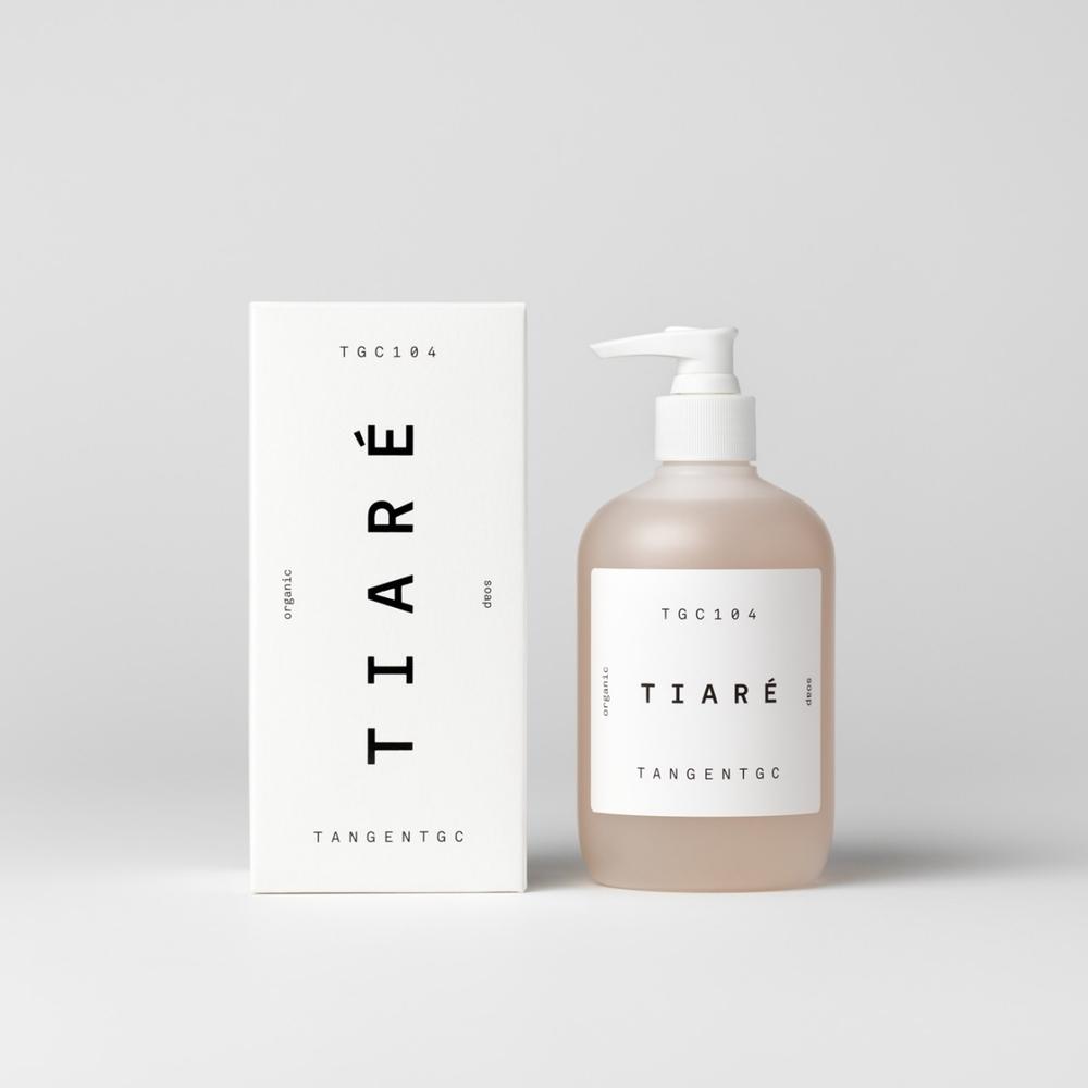 TGC104 Tiaré Organic Soap<br>《梔蘭悅身》洗手沐浴乳