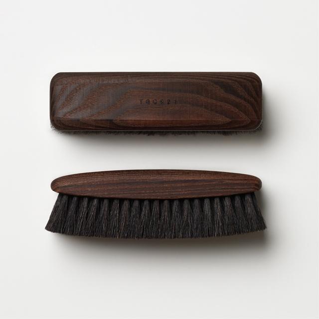TGC036 Dark Shoe Brush<br>《風行》深色系鞋靴馬毛刷