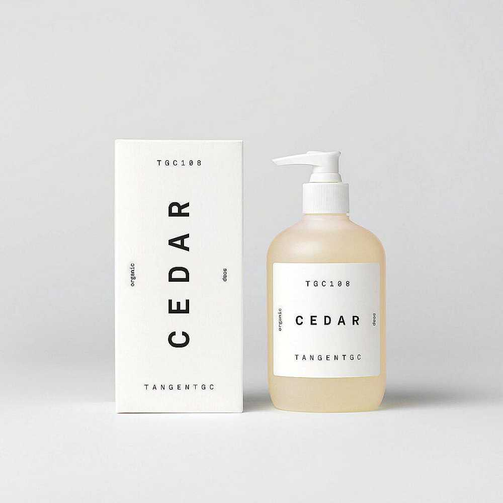 TGC108 Cedar Organic Soap<br>《幸見雪松》洗手沐浴乳
