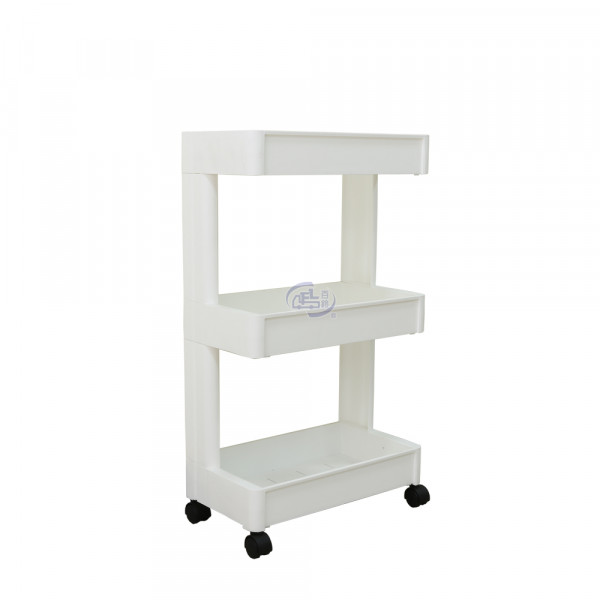 卡豪收靈活可移動單邊三層置物架