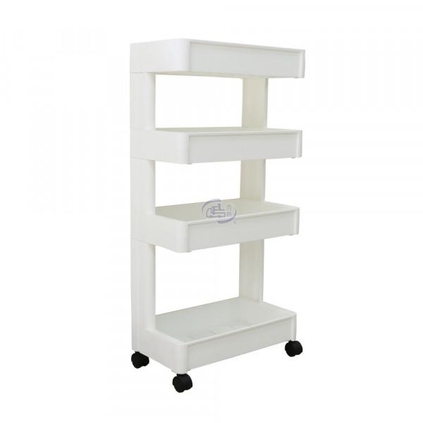 卡豪收靈活可移動單邊四層置物架