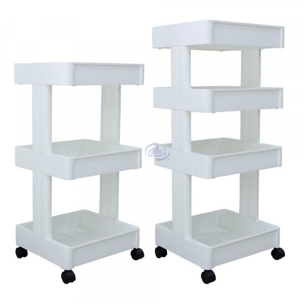 卡豪收靈活可移動中心支柱置物架(三+四層)