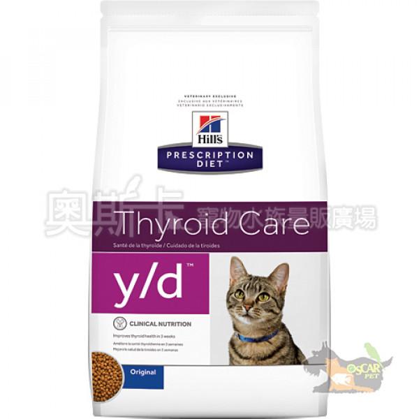 希爾思y/d甲狀腺護理貓處方