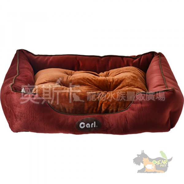 【預購】Carl卡爾-軟綿綿方形床墊-復古款M#6(57x48x15cm)(顏色隨機出貨)