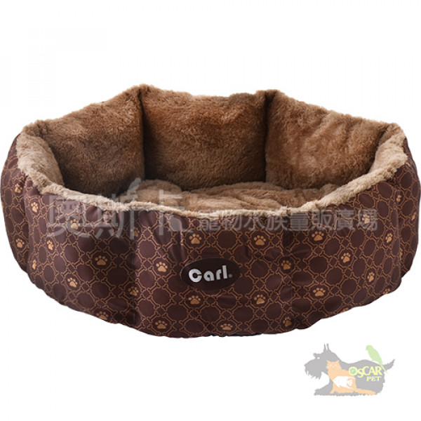 CARL卡爾-軟綿綿寵物圓形床墊(兩種規格)(顏色隨機出貨)