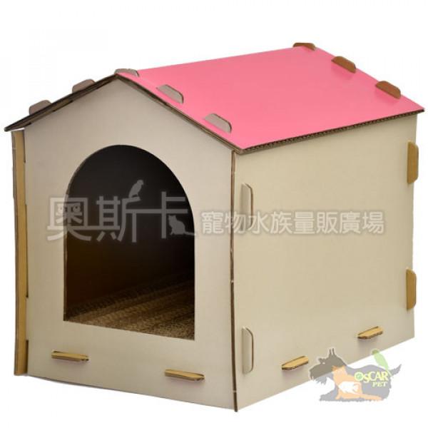 台灣製造-幸福貓屋(櫻花粉)