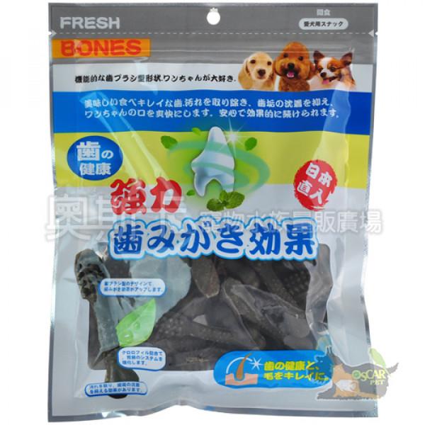 日本FRESH BONES-潔牙一番(葉綠素)機能牙刷骨M-17入(300g)