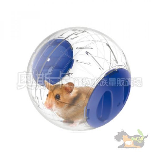 New Age倉鼠水晶跑球(大)藍色