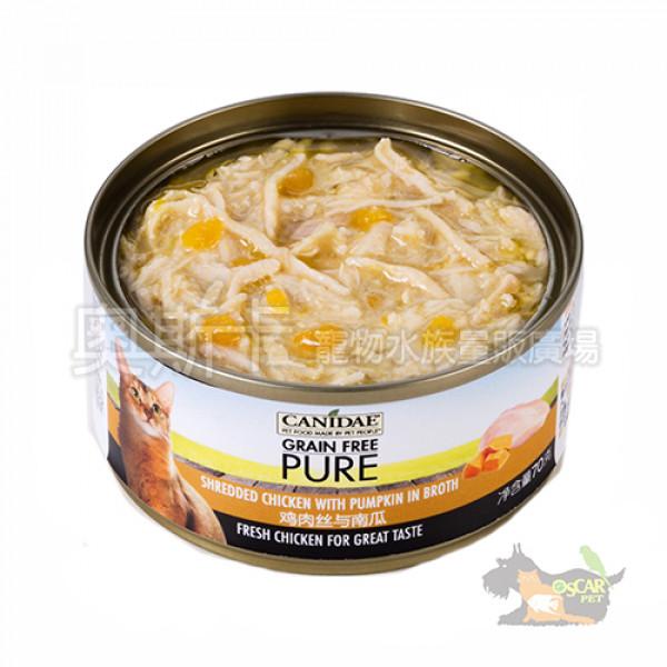 CANIDAE卡比無穀貓主食罐-雞肉絲+南瓜湯罐