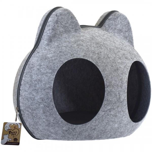 沛奇-豬鼻子造型窩(雙口)54*39*45cm