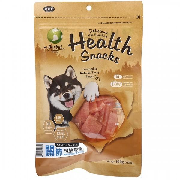 C.C.P機能保健雞肉零食-關節保健(葡萄糖胺+鯊魚軟骨)100g