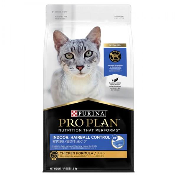 冠能-成貓室內加強化毛配方