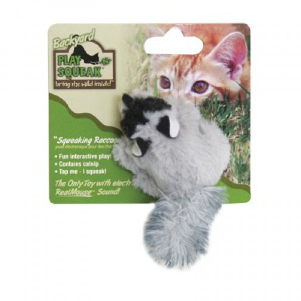 狂野森林-可愛浣熊貓草音效玩具