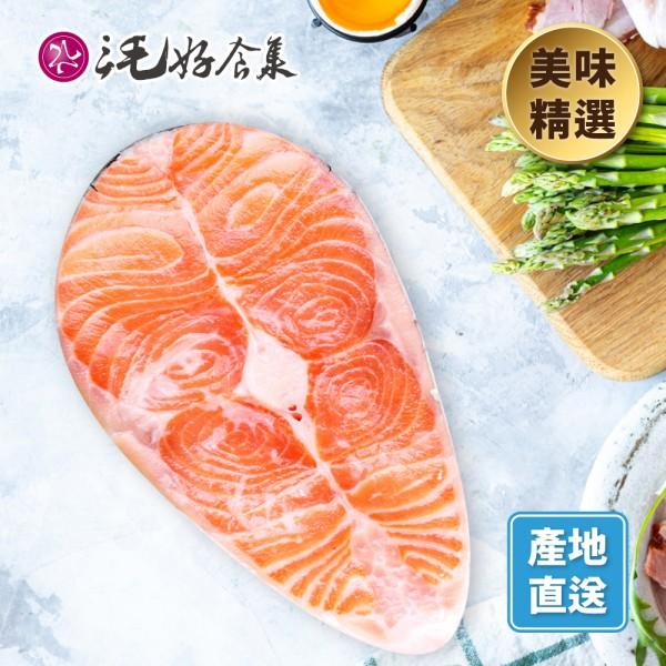挪威厚切鮭魚片330g