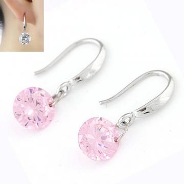 韓版時尚 甜美閃耀鋯石個性耳環