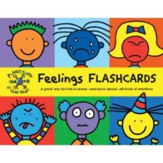 Todd Parr Feelings Flash Cards 情緒字卡《暢銷推薦》 禮筑外文書店