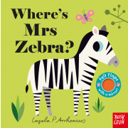 Where's Mrs Zebra? (Felt Flaps)