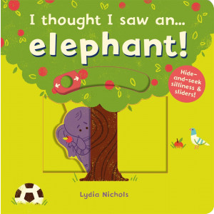 I thought I saw an...elephant! (硬頁操作書)