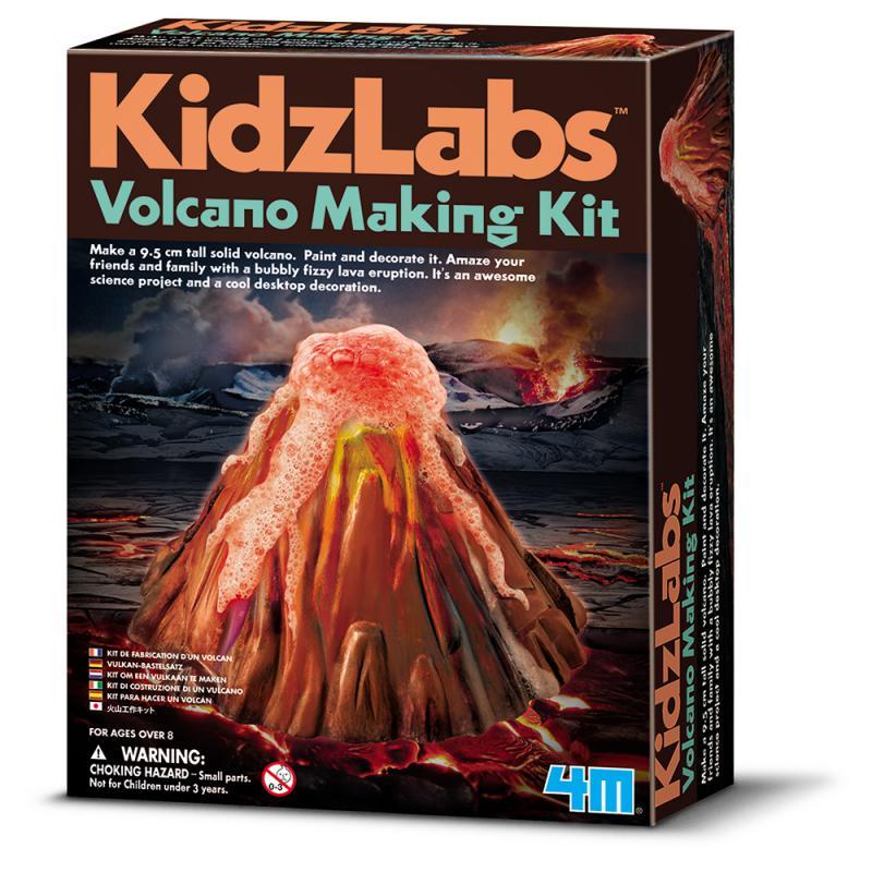 4M火山爆發 - 實驗組