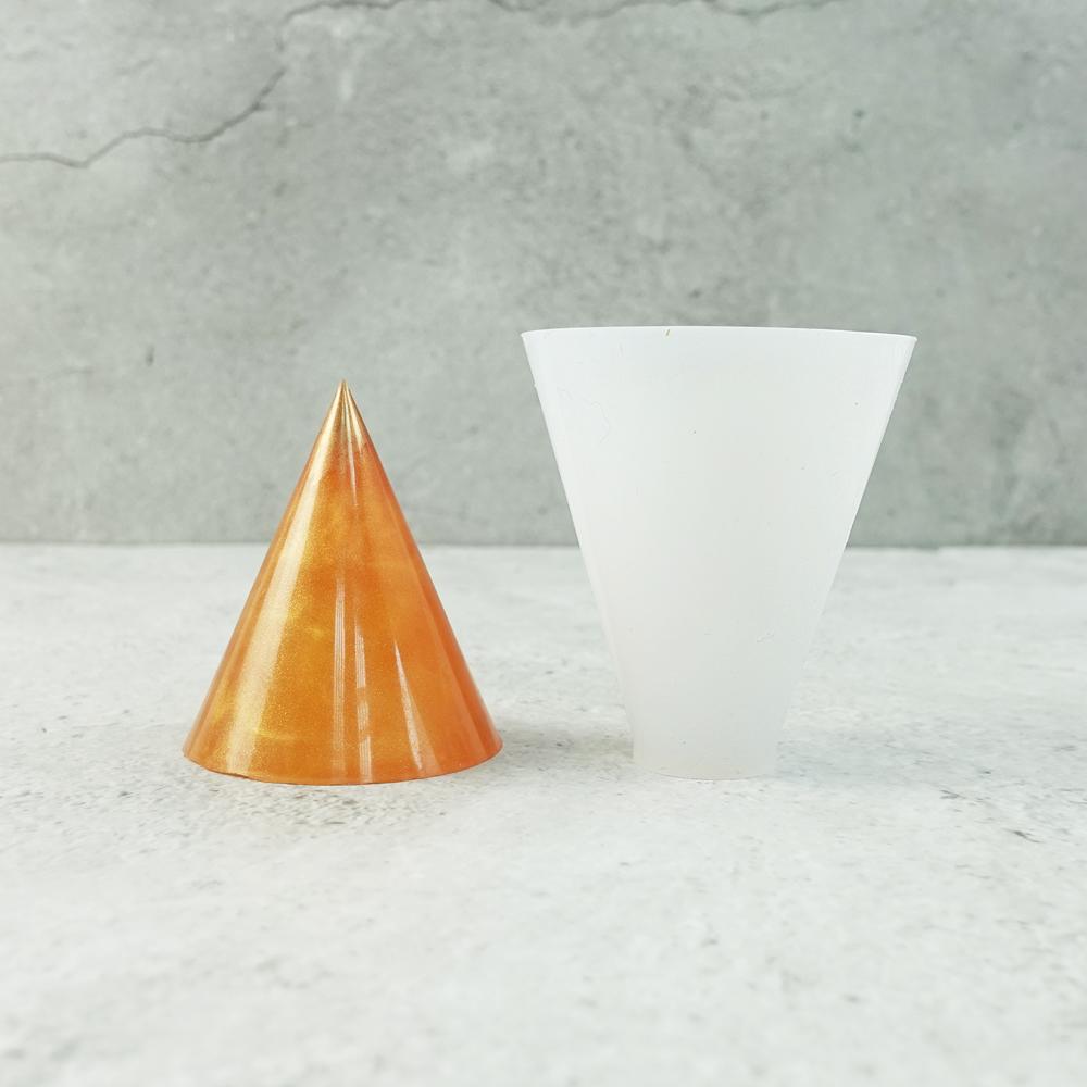 三角錐 矽膠模具, 帝一化工,模具, 灌模