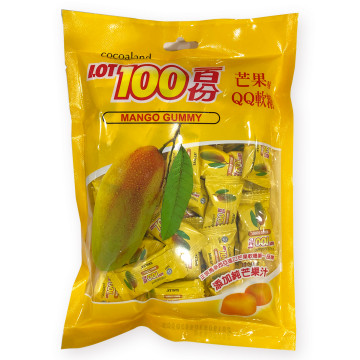 [千翔港澳限定]-一百份芒果味QQ軟糖300g