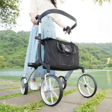 【福利品】Let's Go Out輕便型戶外散步助行器(含專用安全背帶、購物袋)