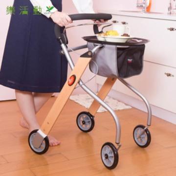 【福利品】Trust Care 室內型步行推車(含專用餐盤)