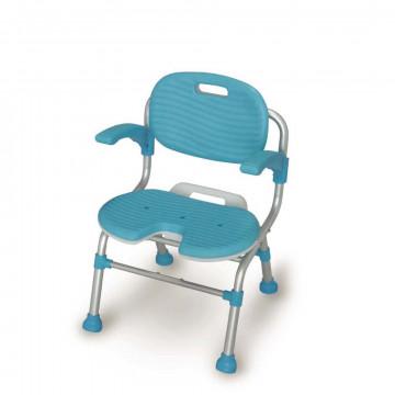 TacaoF折疊式U型座墊洗澡椅