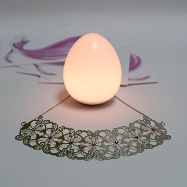 UOVA ● 完美蛋燈 + 星蝶戀 / 項鍊
