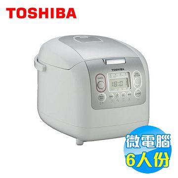 加入會員再享優惠! ★Toshiba 東芝 6人份微電腦電子鍋 RC10NMFGN