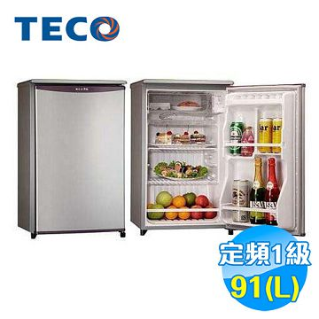 加入會員再享優惠! ★東元 TECO 91公升 單門小冰箱 R1061LA【全省免費安裝】